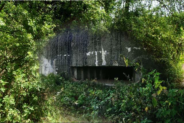 Takto měl nějak bunkr u Vepřeku vypadat