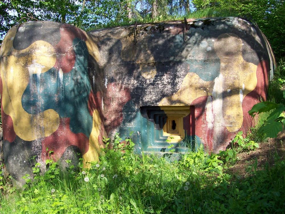 Bunkr č. 13 nad Dolním Bezděkovem. Stav v r.2005